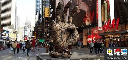 《行尸走肉》AR广告现身纽约街头惊吓众人 VR 第1张