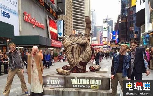 《行尸走肉》AR广告现身纽约街头惊吓众人 VR及其它 第2张