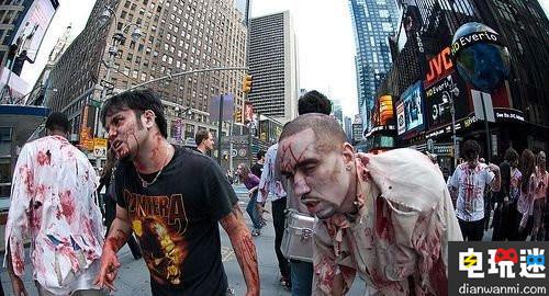 《行尸走肉》AR广告现身纽约街头惊吓众人 VR 第3张