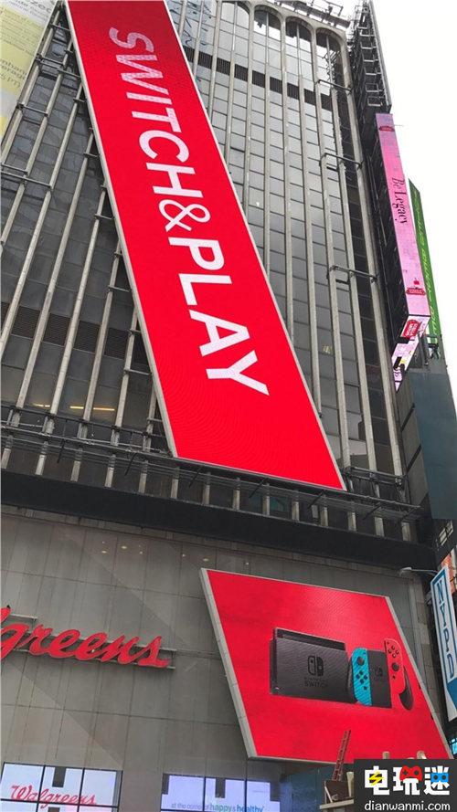 超强的宣传 任天堂NS广告占据纽约时代广场整栋大楼! 任天堂 第1张