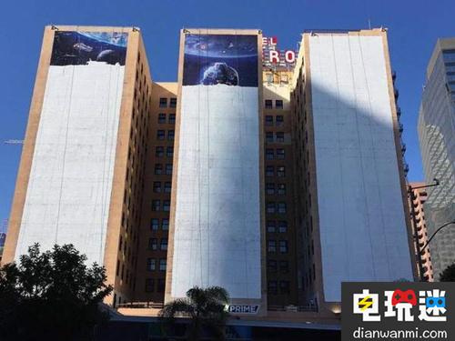 霸气!《星球大战:前线2》E3会展海报铺满3栋大楼! 电玩资讯 第1张