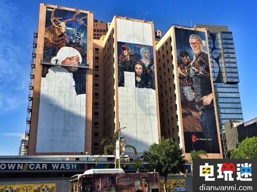霸气!《星球大战:前线2》E3会展海报铺满3栋大楼! 电玩资讯 第2张