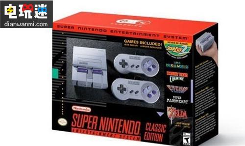 无线手柄?任天堂SNES经典版即将发售 任天堂 第1张