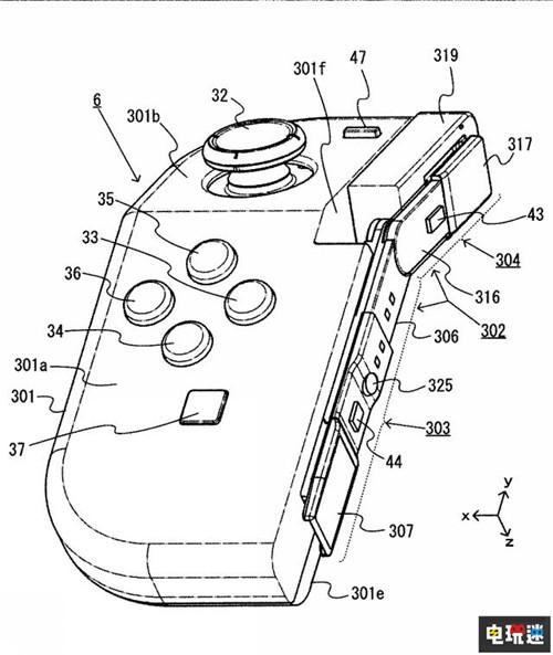 任天堂推出Joy-Con新专利 手柄可折叠