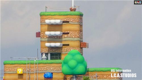 大阪环球影城任天堂园区新照公开 库巴城堡开建