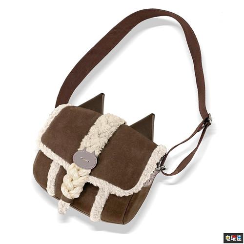 卡普空推出《怪物猎人世界冰原》艾露猫同款挎包
