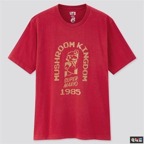 还没夏天优衣库就公开了超级马里奥联动T恤 任天堂SWITCH 第6张