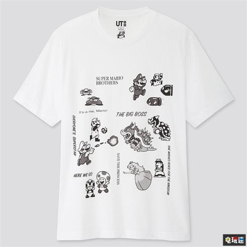还没夏天优衣库就公开了超级马里奥联动T恤 任天堂SWITCH 第5张