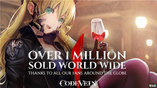万代南梦宫宣布《嗜血代码》全球销量突破100万套 噬神者 万代南梦宫 嗜血代码 电玩迷资讯  第1张